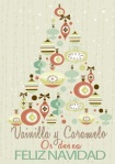 vainilla y caramelo navidad